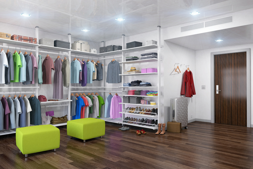 Der Traum vom begehbaren Kleiderschrank - Ideen und Planung!