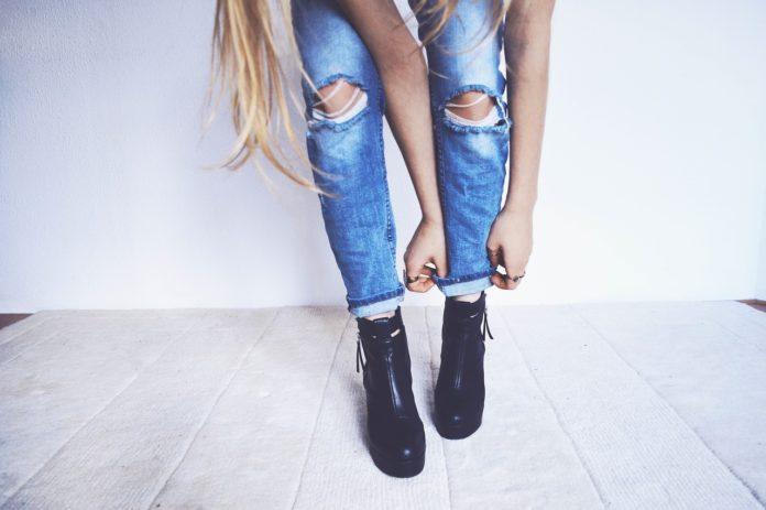 jeans ausfransen