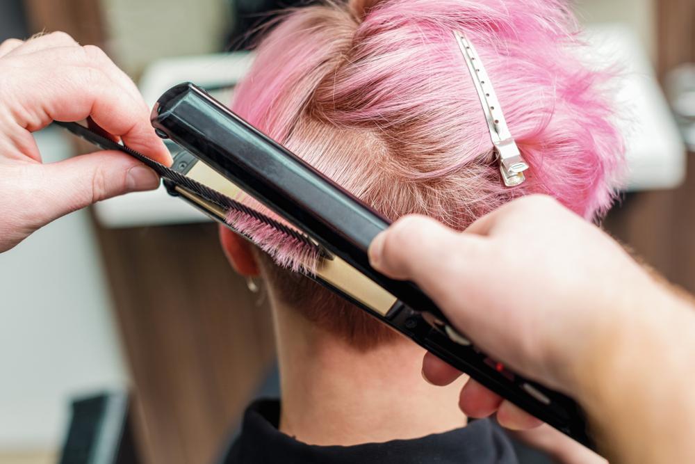kurze lockige haare