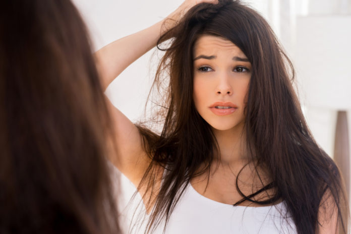 verfilzte haare