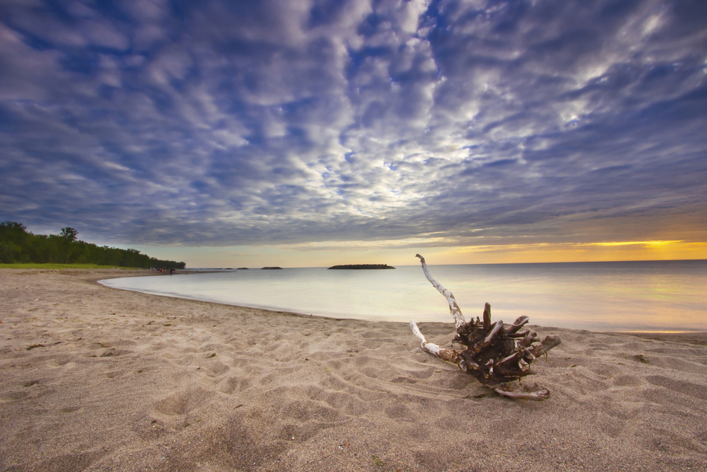 strand am eriesee