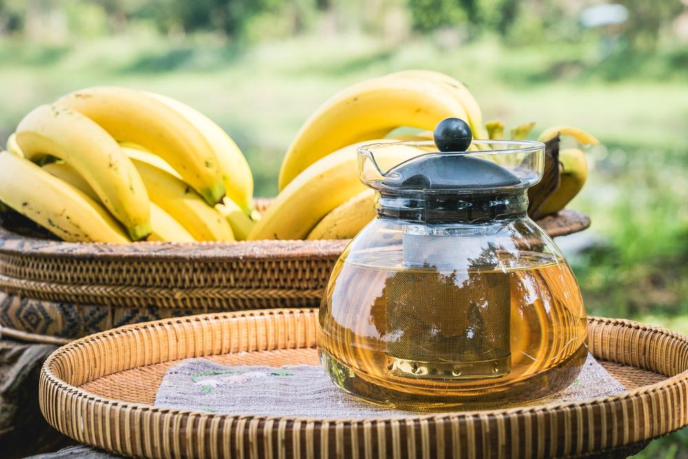tee aus bananen