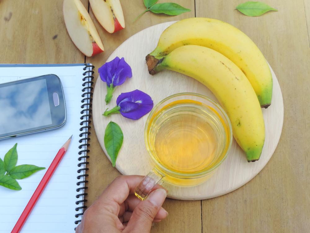 gesunder bananentee