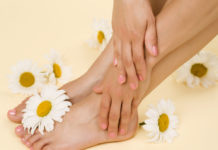Kamillenblüten-Fußbad