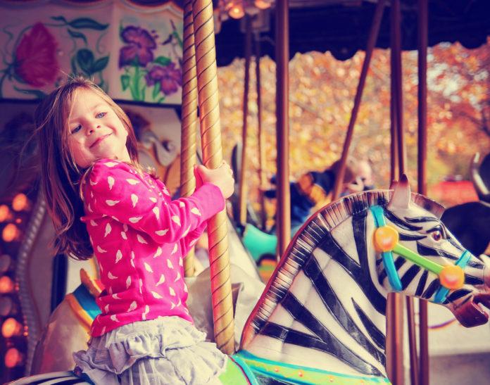 Freizeitpark für Kleinkinder