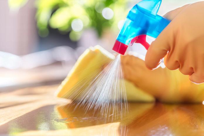 Seifenblasen Flecken entfernen