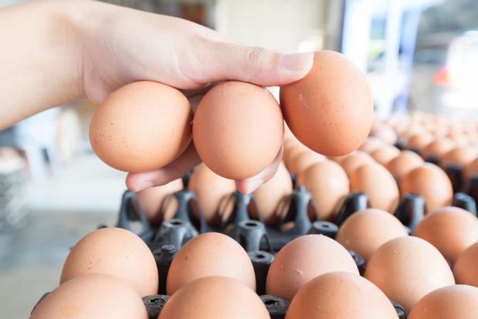 Eierstempel entfernen