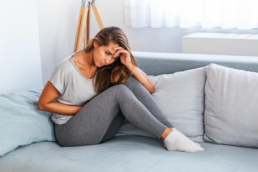 frau unterleibschmerzen