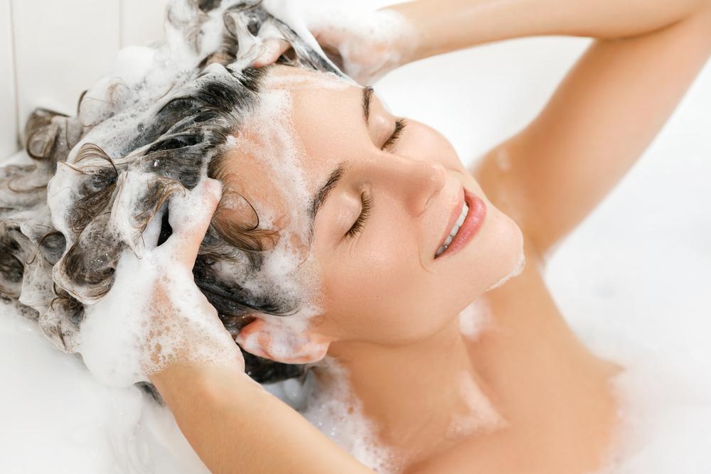 schonende Haarwäsche
